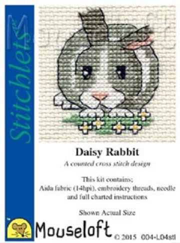 Mouseloft Stitchlets   Daisy Rabbit